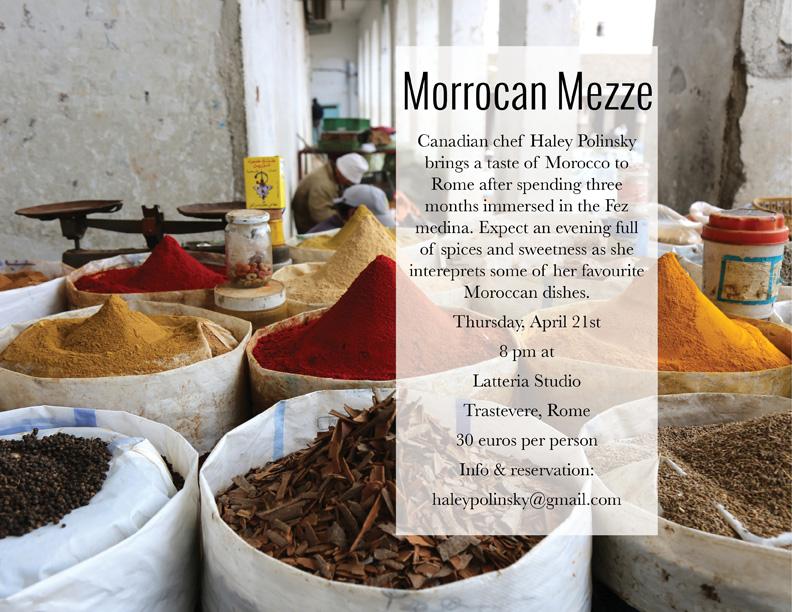 morocco mezze ad