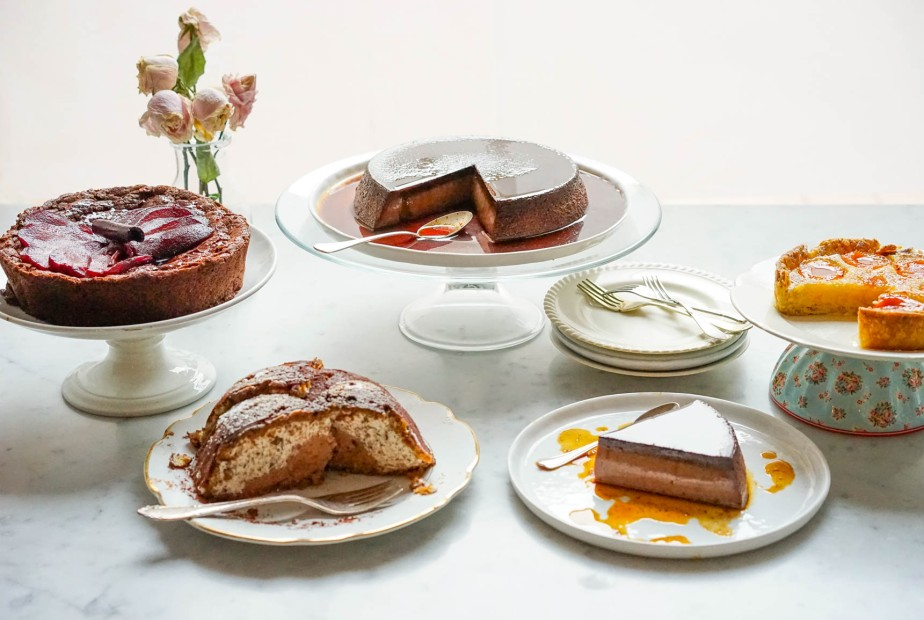 Cakes and puddings with CarlaTomasi