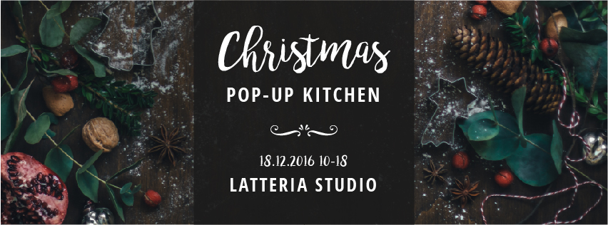 pop-up christmas kitchen, sunday 18 december