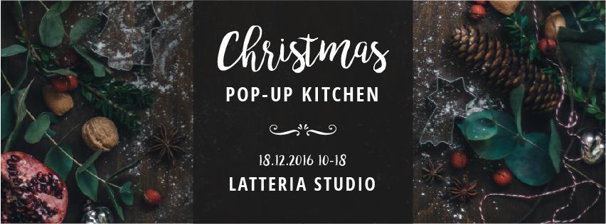 pop-up christmas kitchen, sunday 18december